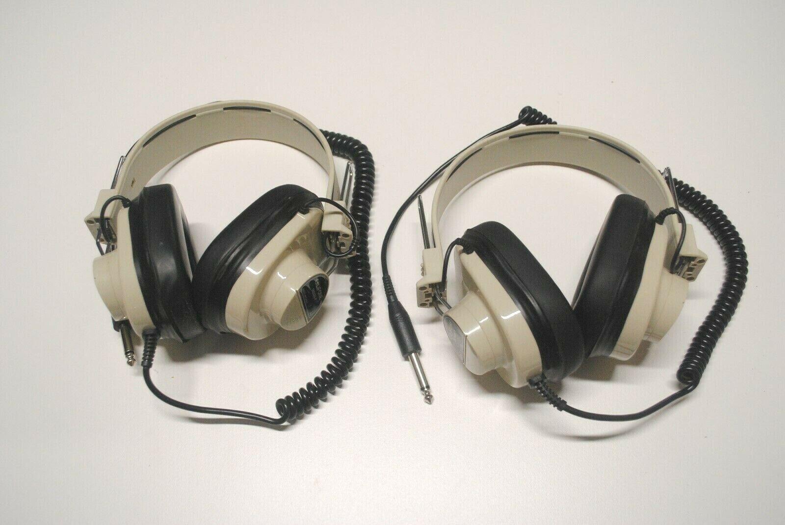 Califone Professional Earphones Set Of 2 Model 2924AV-P QUALITY MADE  - $3.50