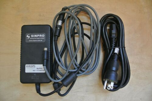 VIASYS EEG NIC36 AMPLIFIER 15V 3A 4 PIN/8 PIN POWER SUPPLY ADAPTER