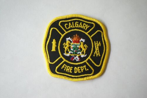 Canada firefighter patch, Calgary Fire Department