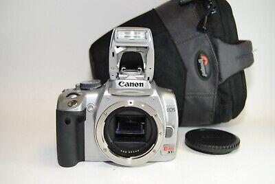 Canon EOS Rebel XTi 10.1 MP DSLR Camera Body - Silver