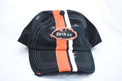 Biker Striped Baseball Cap, EZ Riderz Distressed Style, Adult, Unisex fit