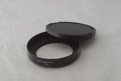 New Metal Lens Shade & Cap For Hasselblad SWC C38 (Metal Lens Shade)