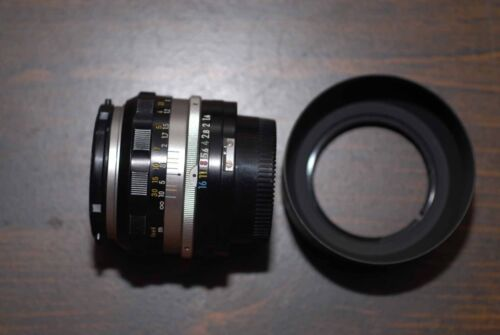 Vintage Nikon non-AI 50mm/f1.4 Lens