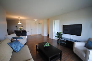 Large Two Bedroom + Den! Fully furnished with Fitness Centre!