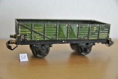 Märklin 1761 ak: Hochbordwagen mit automatischer Kupplung - Spur 0