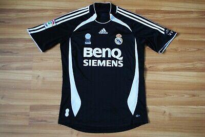 VINTAGE REAL MADRID 2006/2007 AWAY FOOTBALL SOCCER SHIRT JERSEY CAMISETA SMALL ()