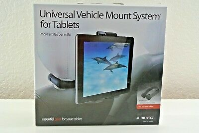 Vehicle Mount System - Audiovox Universal Vehicle Mount System for Tablets