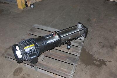 Grundfos Pump Cri15-08 A-ca-i-e-hqqe 15hp230460vph3 Inv29617