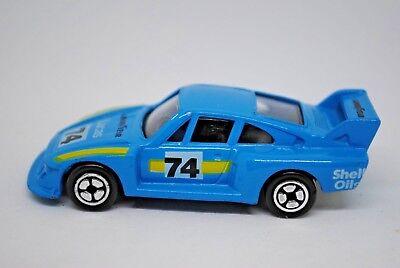 CORGI Juniors PORSCHE 935 Racing Car in No:74 LUCAS Livery Made in Gt.Britain