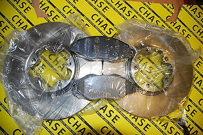 Ford Transit RWD Models 00-06 Front Brake Discs x 2 & Pads