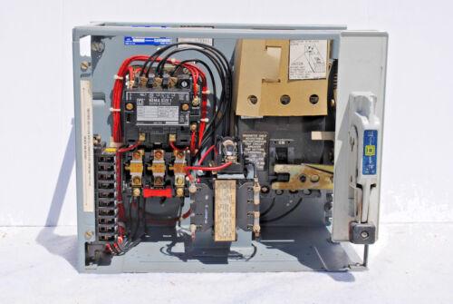Square D MCC Bucket Class 8998, Type EC406, With Circuit Breaker & Transformer