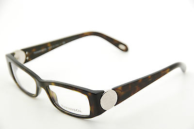 New Authentic Tiffany & Co TF2010 8015 Havana 51mm Eyeglasses Italy RX w/Case