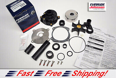 New Johnson Evinrude OEM Outboard Water Pump Kit 5001595 w
