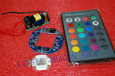 10w Rgb Led Drive Control Rgb Controller And Power Supply Diy Kit A392