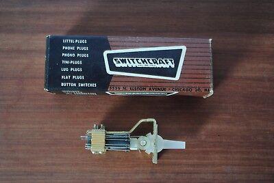 Vintage Switchcraft Switch Pn 27292l Nos