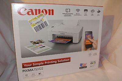 Canon Pixma TS3122 Wireless All-in-one Inkjet..New open Box