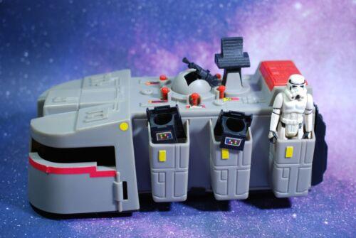 VINTAGE Star Wars COMPLETE IMPERIAL TROOP TRANSPORTER + FIGURE KENNER transport