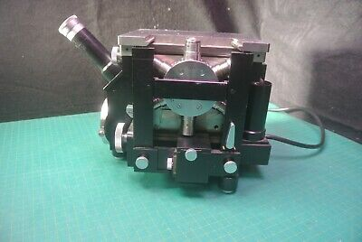 Carl Zeiss 3011 Linnik Interferometric Microscope Black Power Supply 220v