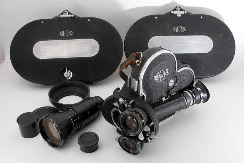 [SUPER RARE Overhauled Excelle] Arriflex 16 16mm Movie Camera+Lens 3sets 786569