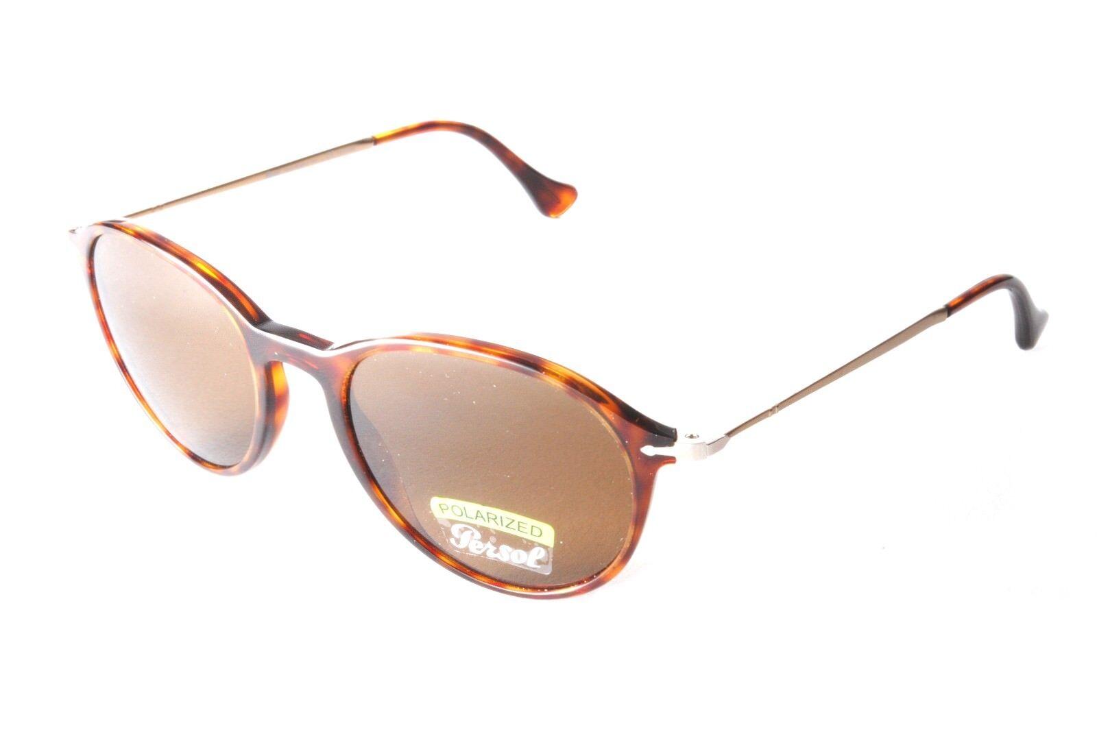 78c556f801 Persol Reflex Edition PO3125S 24 57 Tortoiseshell Gold Polarized Sunglasses