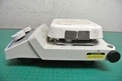 Fisher Scientific 11-300-49hp Isotemp Digital Hotplate 7x7 Ceramic Top Stained