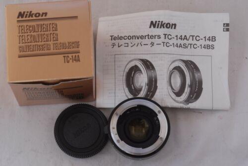 Mint!  Nikon TC-14A Tele-Converter Boxed