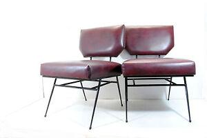 2 poltrone armchairs 60 39 mid century minimal interior for Poltrone minimal