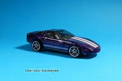 2013 Hot Wheels Loose 80's Corvette Purple Brand New Combine Shipping
