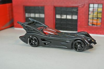 Hot Wheels Batman Batmobile - Black - Loose - 1:64 - From 5-Pack