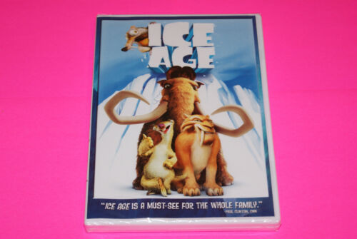 Brand New Factory Sealed Ice Age DVD Includes both Widescreen & Fullscreen   BCR