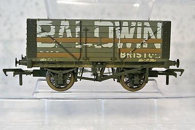 Bachmann Branch-Line OO 37-114  7 Plank Wagon BALDWIN Weathered C-9 NIB