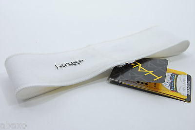 Halo II Pullover Cycling Headband with Sweat Block Seal White