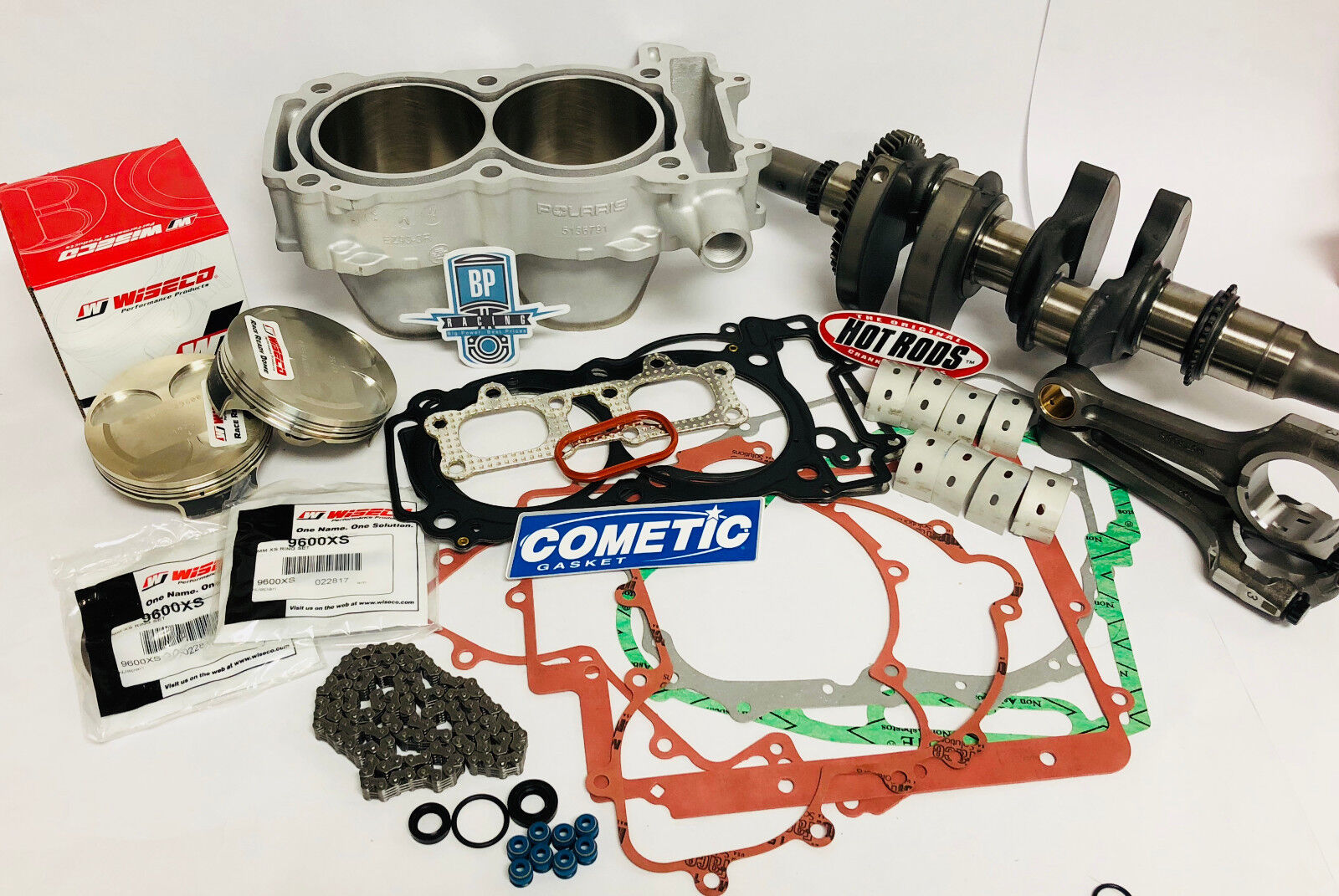 Ranger XP 900 XP900 Complete Rebuild Kit Wiseco 10:1 Hotrods Top Bottom End