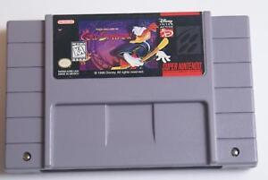 Maui Mallard in Cold Shadow - Super Nintendo (SNES) Game - Great