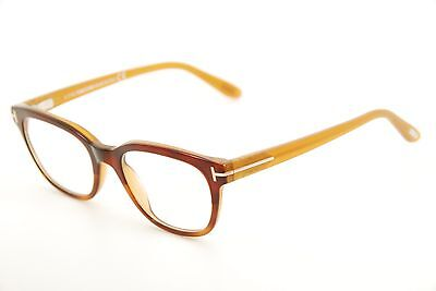 9cd0db98d28f7 New Authentic Tom Ford TF 5207 050 Brown Yellow 49mm Italy Frames Eyeglasses  RX