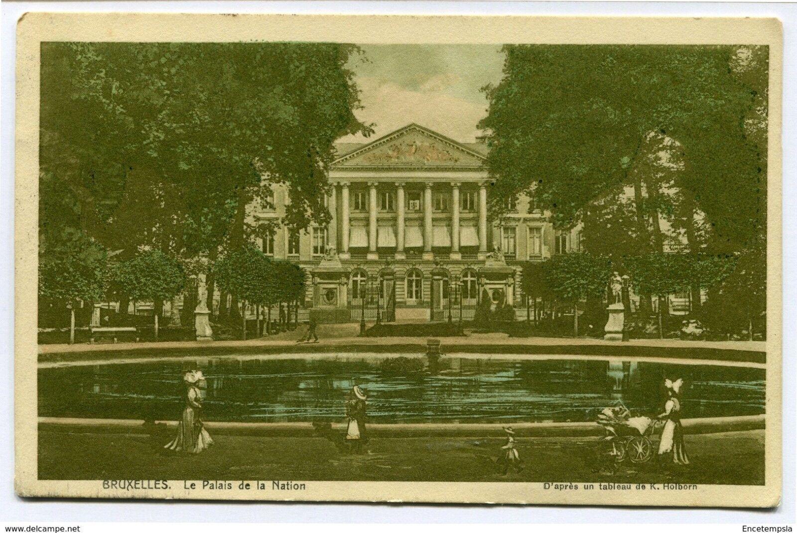 CPA-Carte postale-Belgique-Bruxelles -Le Palais de la Nation - 1913 (CP2144)