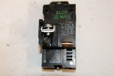 Pushmatic P120 Circuit Breaker Single Pole 20amp 598