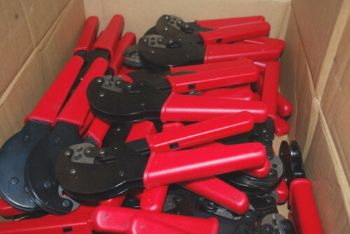 Lot 5 RG-6 Coaxial HEX CRIMPING Tool PV25325 for f connectors rg6 & rg59