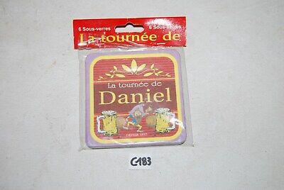 C183 6 Sous verre - La Tournée de Daniel