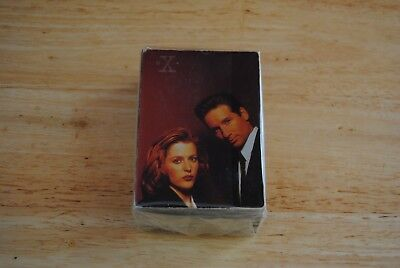 trading card set de base 72 cartes the x files serie 1 d'occasion  Charleroi