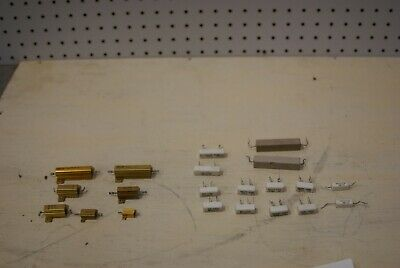 Lot Of Power And Ceramic Resistors. Lot 395