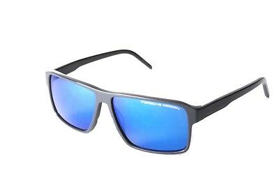 Porsche Design P8634C Dark Blue Blue Mirror Sunglasses