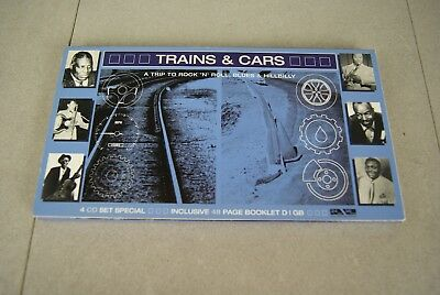 Trains & Cars (4-CD) - Concept/Tribute/Theme Albums Blues-Hillbilly-Rock n Roll