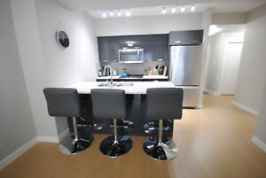 Brand New Fully Furnished One Bedroom Plus Den in Fox II Towers