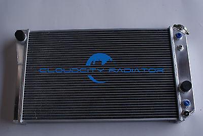 All aluminum radiator for 84 90 CHEVROLET CORVETTE C4 Small Block 57L V8 AT MT