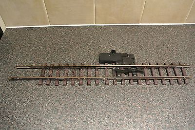 LGB  UNCOUPLING TRACK No 1055 G SCALE MADE IN W GERMANY + 300mm TRACK (No1000)