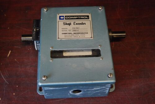 """Comptrol CCU-96 IT,     3/4"""" shaft encoder,  Removed from working Machine"""
