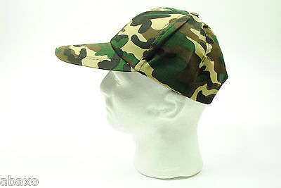 c2911e0fa5a Baseball Cap Hat Old School Vintage Classic - Army Camo Camouflage Pattern