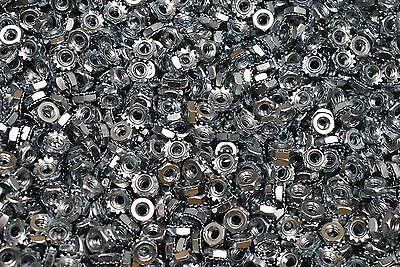 1200 K-lock Hex Nuts 10-24 Keps Zinc Plated 38 Hex Machine Screw Nut