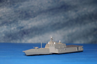 USS Indepedence Class LCS Painted 1/1250 Waterline ship 3D Printed in Resin